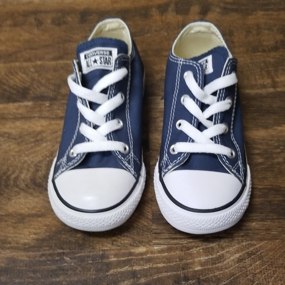 Converse Chuck Taylor All Star Ox I Navy 10 Infant Boutique